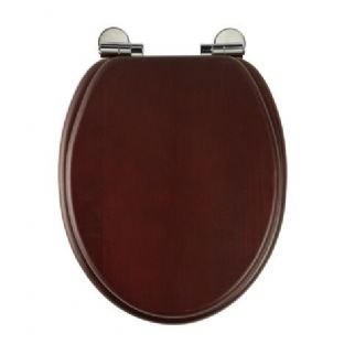 Roper Rhodes - Traditional Soft Close Toilet Seat (Mahogany) - 8081MSC